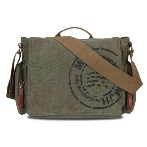 men`s shoulder bag army green