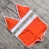 Designer orange summer garment set