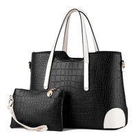 Designer purse and bag black