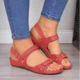 Three Color Stitching Ladies Sandals - Sunshine Store