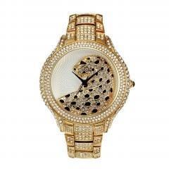 gold tone dress watch