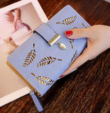 Designer blue purse