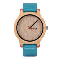 Bamboo Luxury Quartz Wristwatch - Sunshine Store