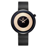 Black women dress watch