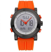 Designer Digital Wrist Watch In Orange