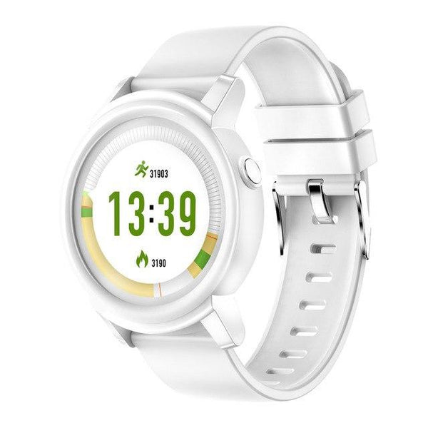 White Smartwatch For Android And iOS
