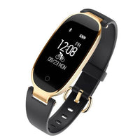 gold and black smartband women