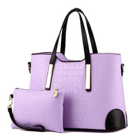 Designer purse and bag purple