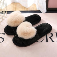 Warm Slippers Black