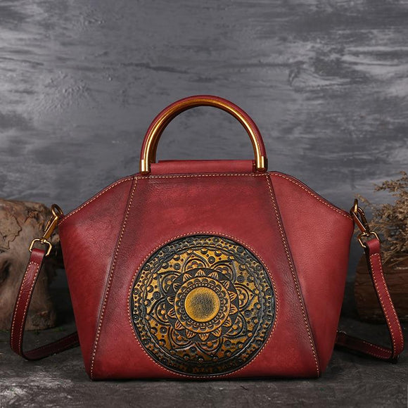 Luxury Genuine Leather Elegant Handmade Bag - Sunshine Store