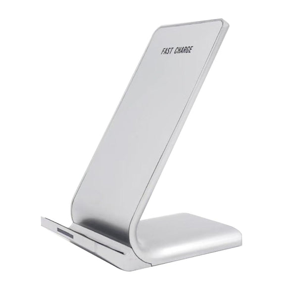 Fast charger dock wireless silver