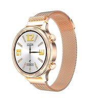 Rose gold tone smartwatch