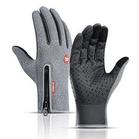 Cycling winter gloves graphite