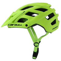 green cycling helmet