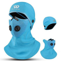 Baby Blue Winter Head & Face Cover