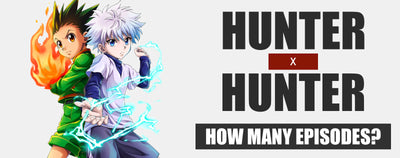 How many episodes in Hunter x Hunter?