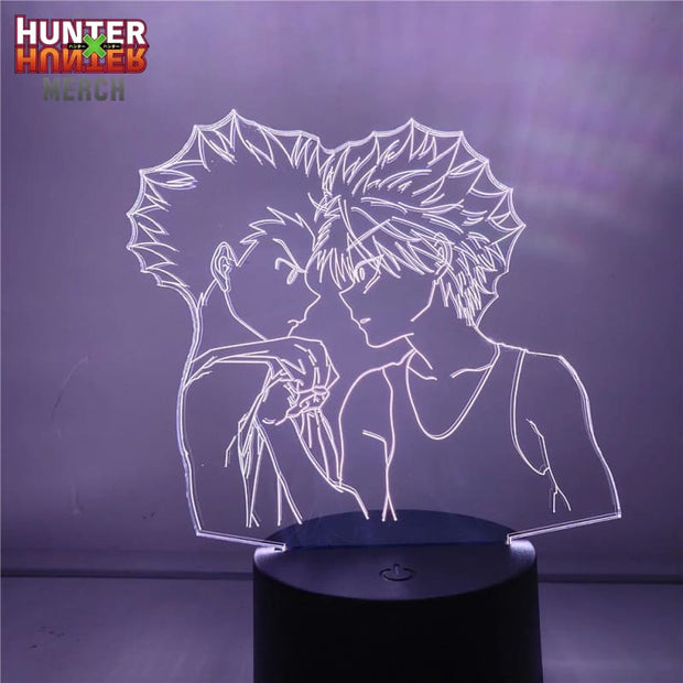 Gon vs Killua Lamp
