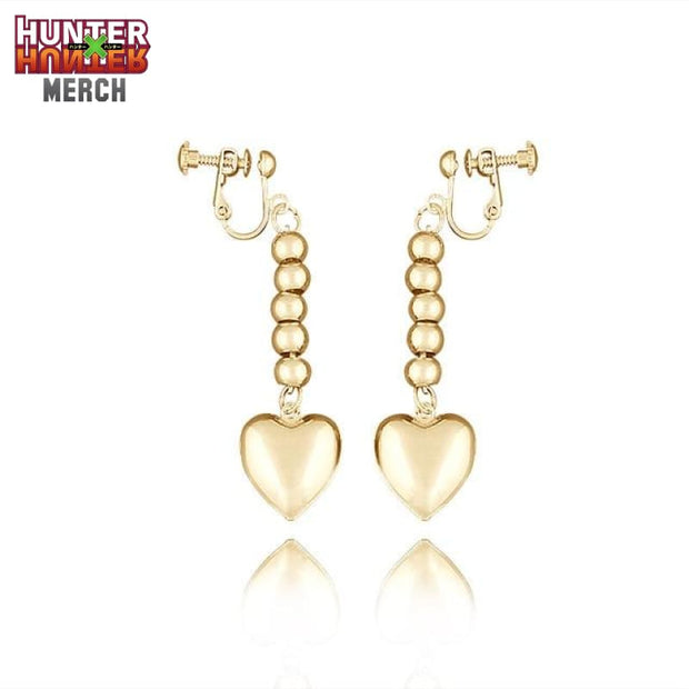 Hisoka Heart Earrings