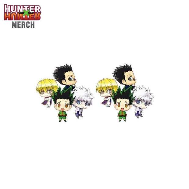 Hunter x Hunter Chibi Earrings
