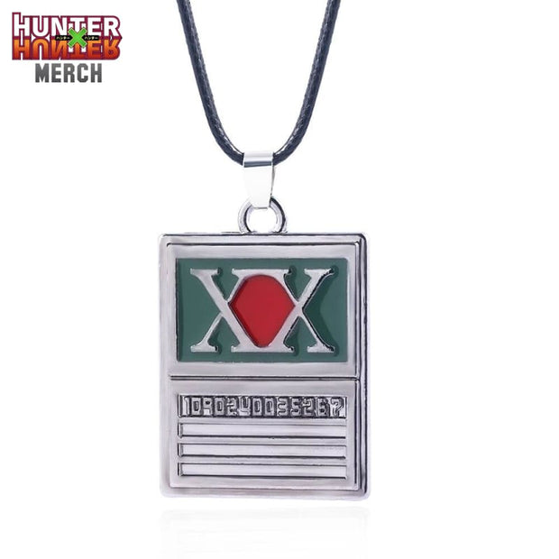 HUNTER x HUNTER Initial Necklace