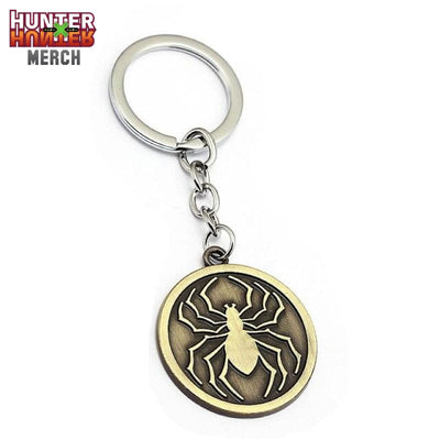 Phantom Troupe Spider Logo Keychain