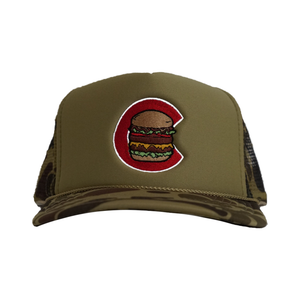 [Limited Edition] Camo Burger Hat