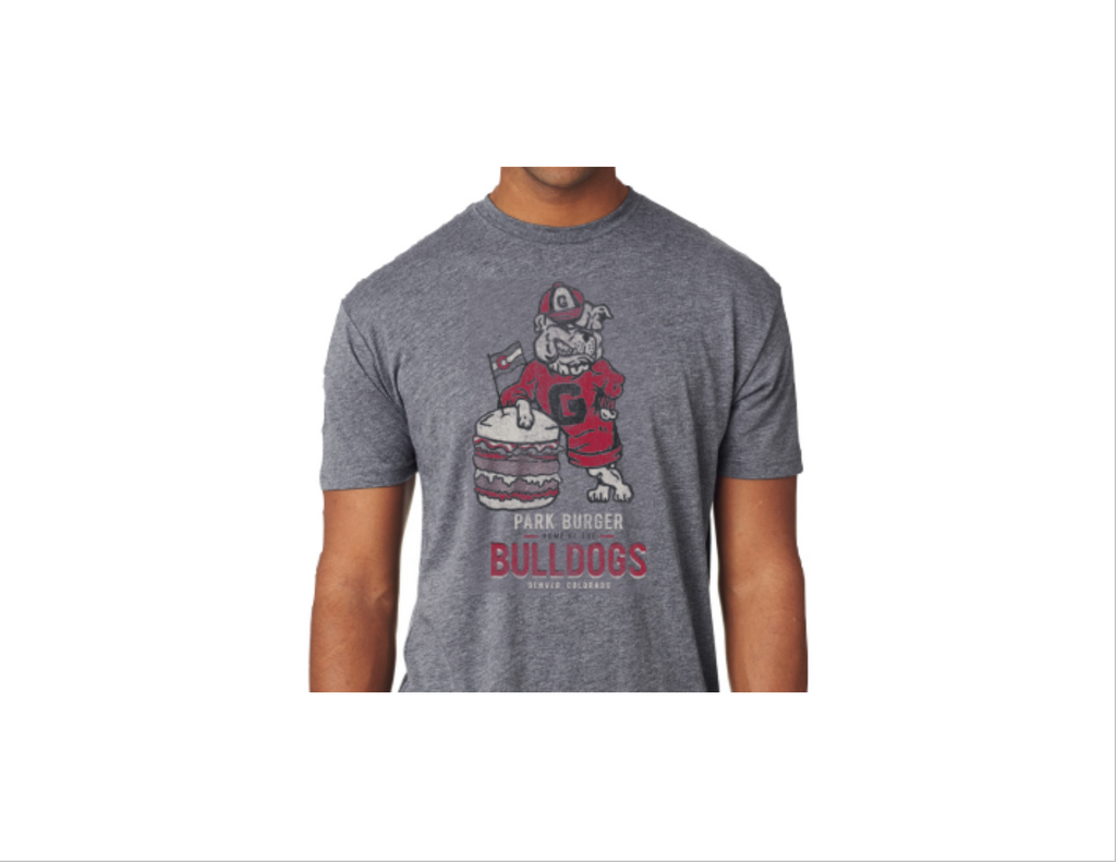 UGA Bulldogs Burger T-shirt