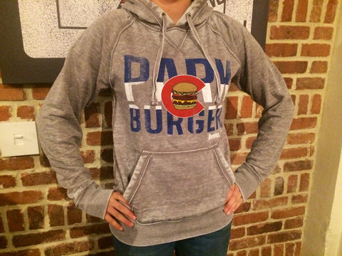 Park Burger Flag Pullover Hoodie