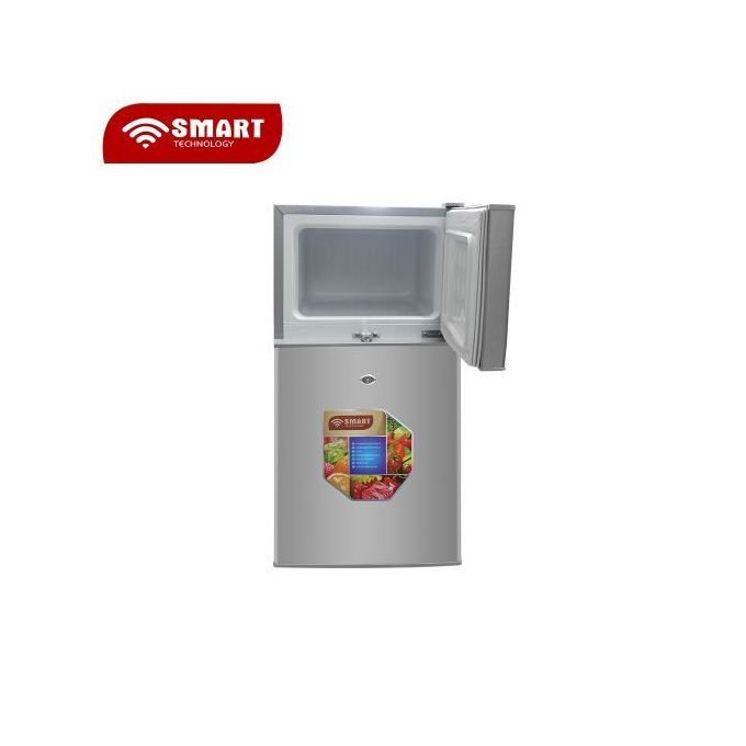 SMART TECHNOLOGY Réfrigerateur 2 Battants-STR-195H -95 L - Argent - 12 Mois Garantie