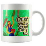 CAMBIO REQUIRES ACTION BY ALL OF US mug