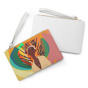HAZ WHAT YOU LOVE Clutch Bag