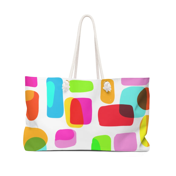 COLORES AND MORE Weekender Bag