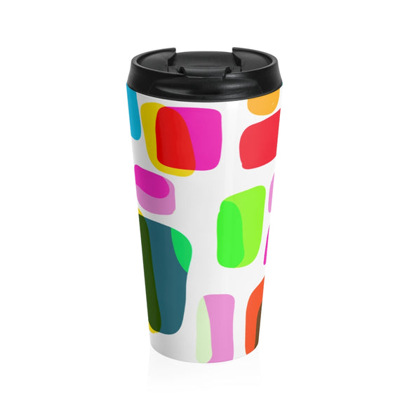 COLORES AND MORE Stainless Steel Travel Mug