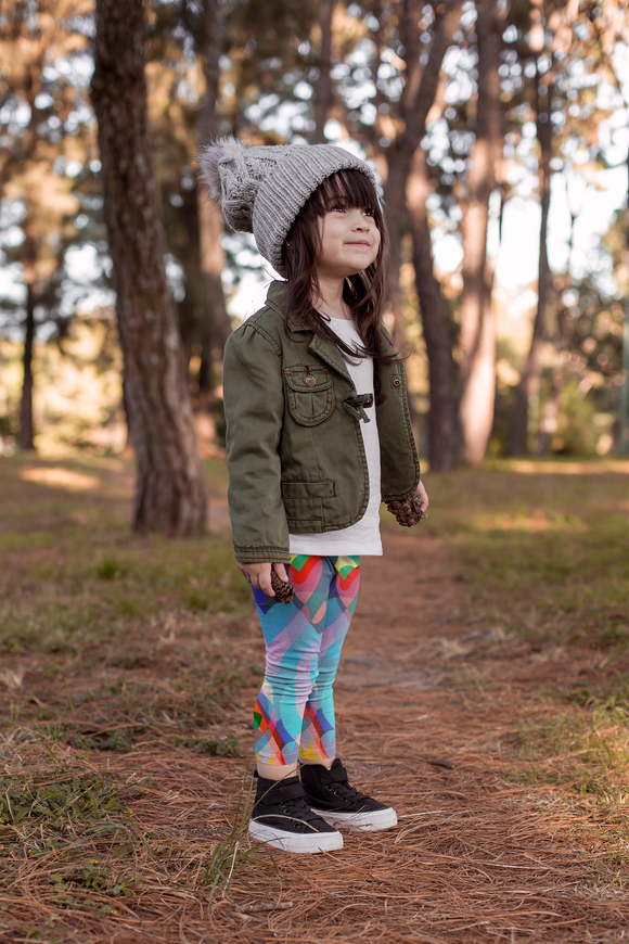 CORAZONES  KID'S LEGGINGS