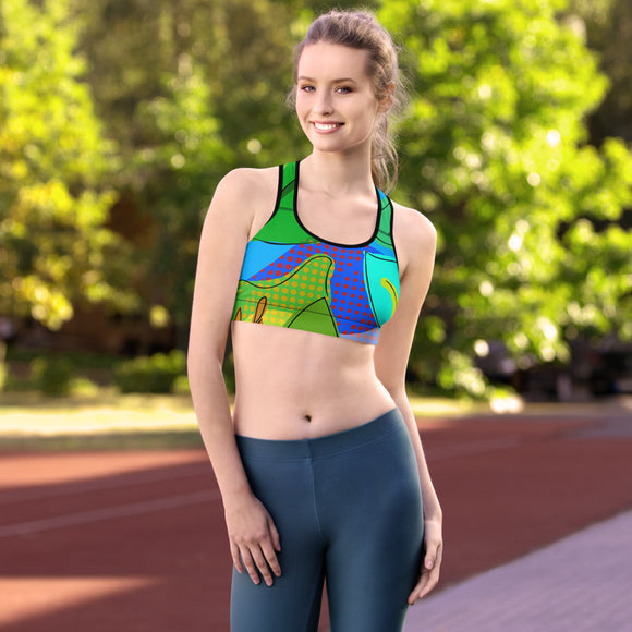 NATURE COLORES Sports bra