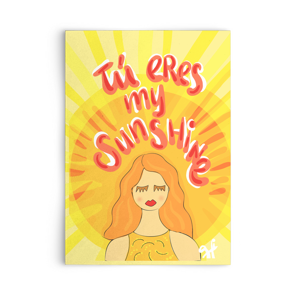 TU ERES MY SUNSHINE CARD