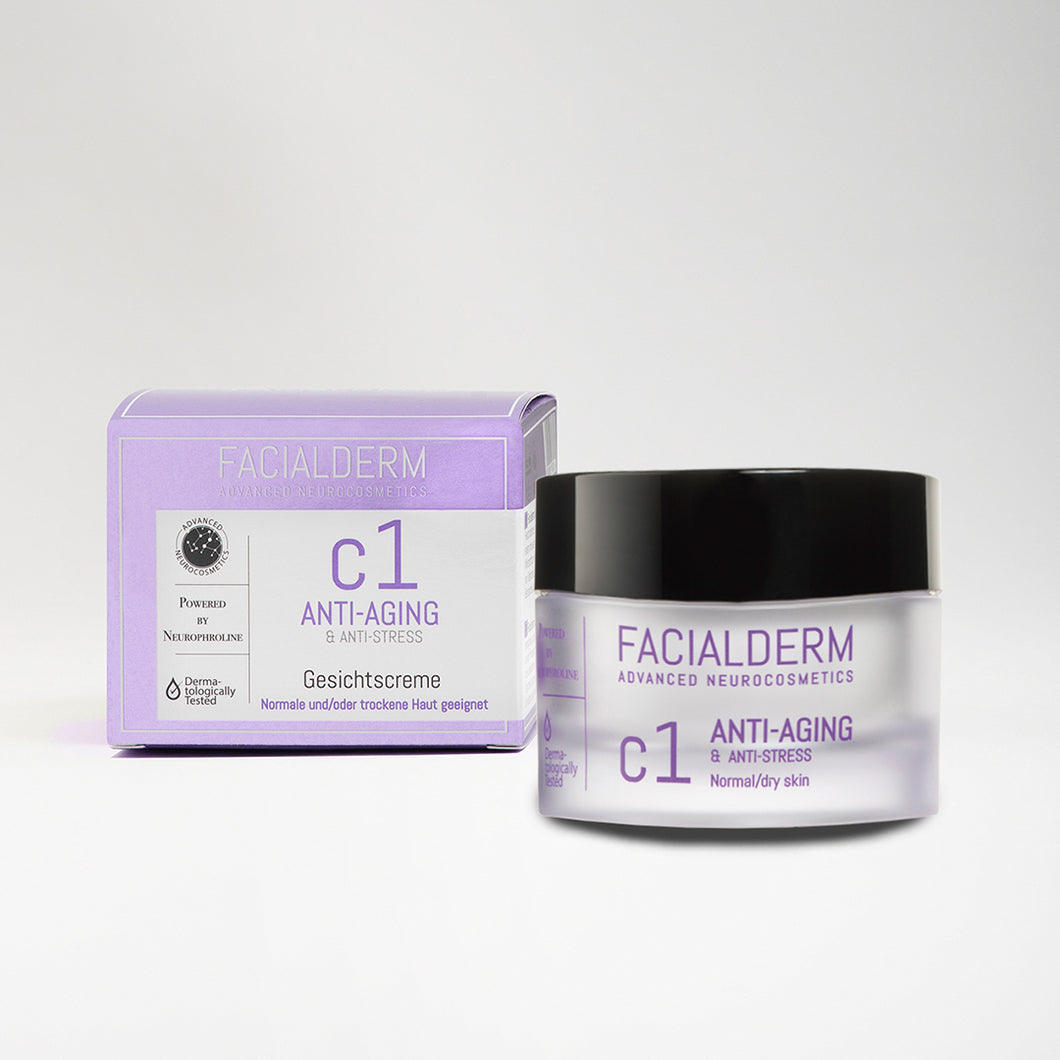 Facialderm Face Cream C1 Anti-Age & Firming & Anti-Stress