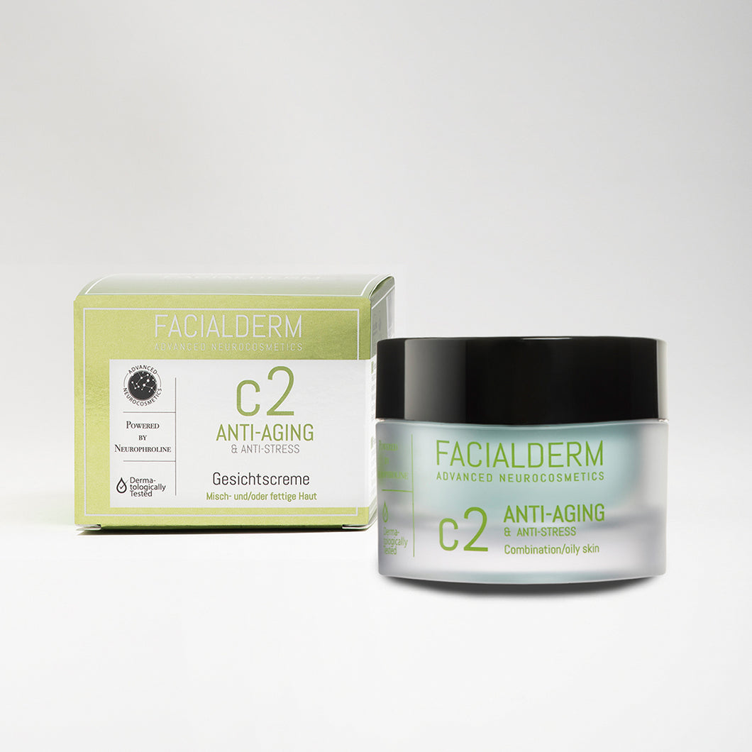 Facialderm Face Cream C2 Anti-Age & Oilcontrol & Anti-Stress