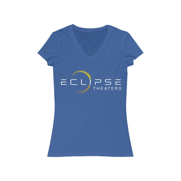 Eclipse Women's Jersey Short Sleeve V-Neck T-Shirt