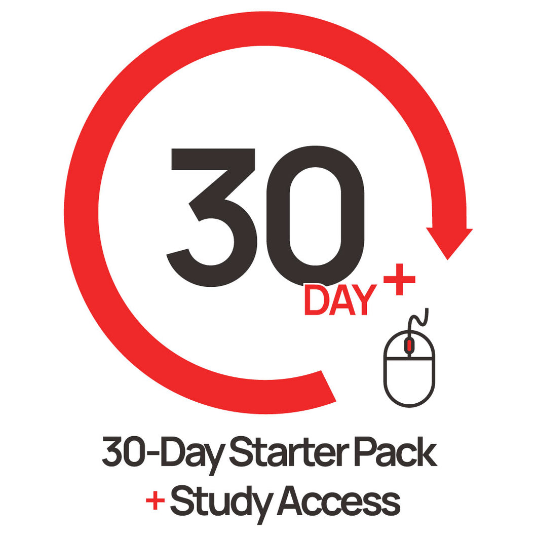 30 Day Starter Pack + Study Access