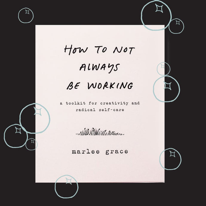 BOOKS 'N' BUBBLES: HOW TO NOT ALWAYS BE WORKING