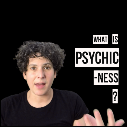 ChannelEDTV: What Is Psychic-Ness?