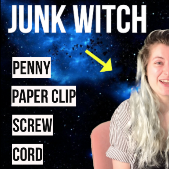 ChanneledTV: Junk Witch - Penny, Paper Clip, Screw, Cord