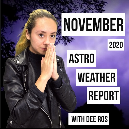 ChannelEDTV: November 2020 Astro Weather Report