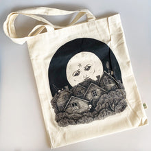 Load image into Gallery viewer, Full Moon Over Salem Tote