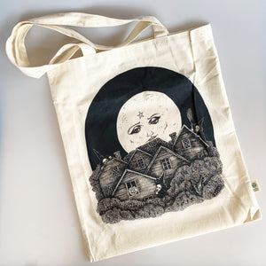 Full Moon Over Salem Tote