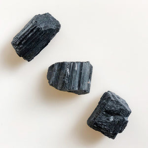 Rough Black Tourmaline