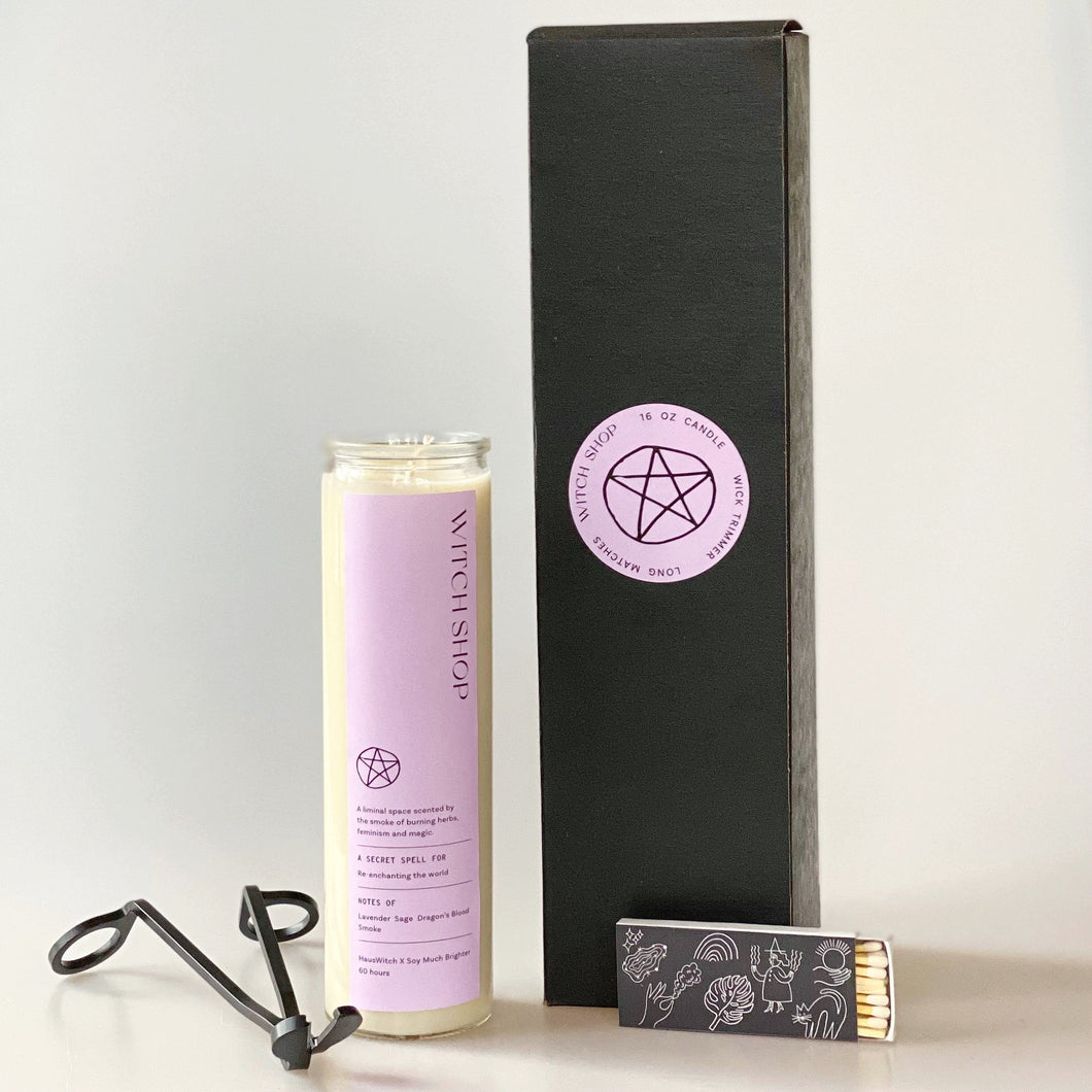 Witch Shop Altar Candle Gift Set