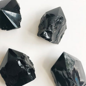 Hex the Patriarchy Obsidian Point