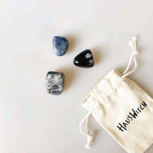 Tumbled Stone Spell Pouches